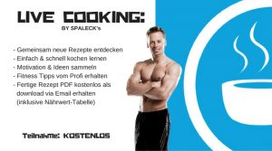 Live Cooking Fitnesskochschule Siggi Spaleck